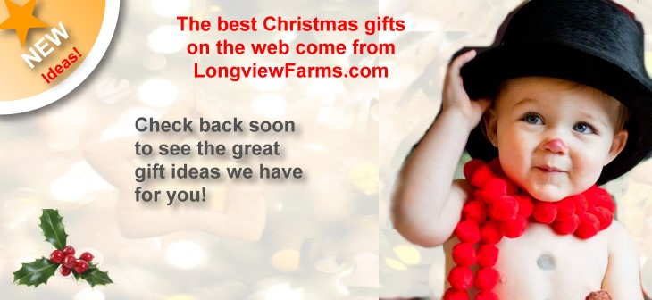 Christmas gifts and shopping with LongviewFarms.com