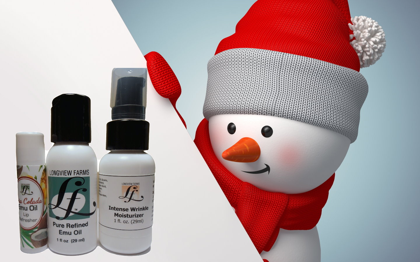 Emu oil products gift