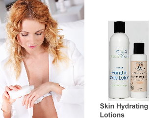 Skin hydrating with Emu oil lotions for wrinkles and dry skin
